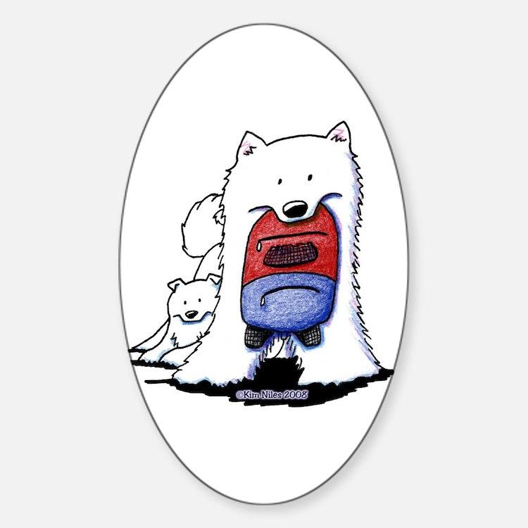 Back To School SAMS Oval Sticker (10 pk)