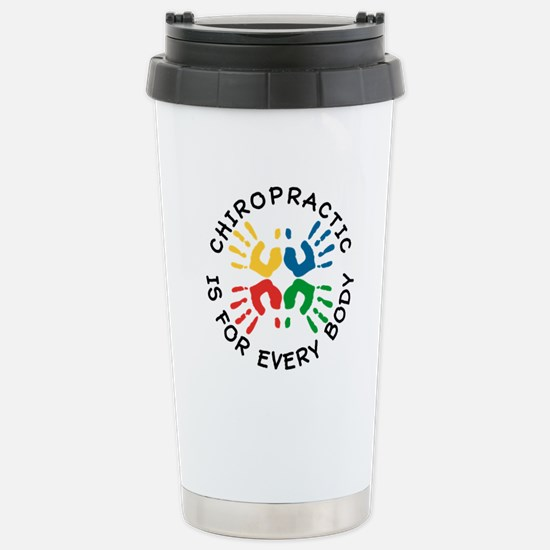 Chiro Is For Every Body Stainless Steel Travel Mug
