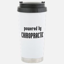 Powered By Chiro Travel Mug
