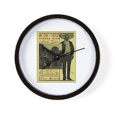 Emiliano Zapata Poster Wall Clock