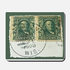 1908 Stamps Mousepad