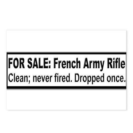 Sale: French Rifle - Postcards (Package of 8)