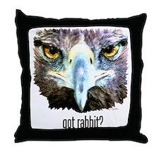 Got Rabbit? Throw Pillow