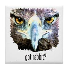 Got Rabbit? Tile Coaster