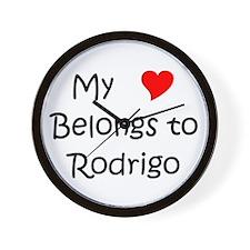 Rodrigo's Wall Clock
