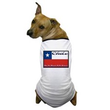 Chile Pride Dog T-Shirt