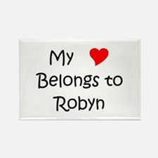 Cute Robyn Rectangle Magnet