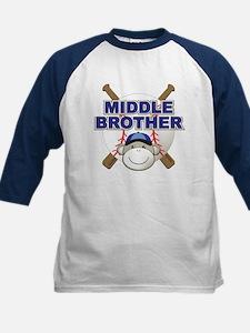 Middle Brother Baseball Tee