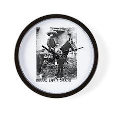 Emiliano Zapata Salazar Wall Clock