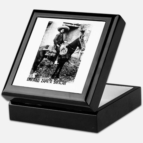 Emiliano Zapata Salazar Keepsake Box