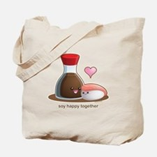 Soy happy together Tote Bag