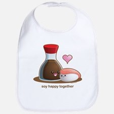 Soy happy together Bib
