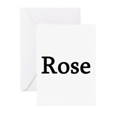 Rose - Personalized Greeting Cards (Pk of 10)
