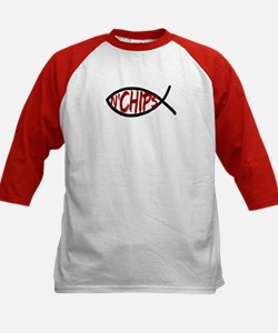 Jesus Fish and Chips Tee