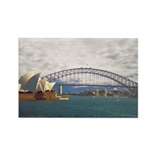 Sydney Harbour Bridge Rectangle Magnet