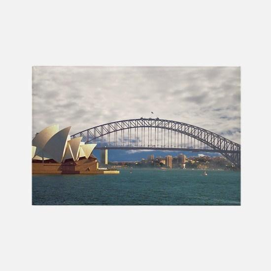 Sydney Harbour Bridge Rectangle Magnet
