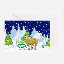 Christmas Lights Belgian Greeting Card