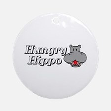 The Hungry Hippo Ornament (Round)