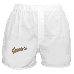 Cornhole Script Boxer Shorts