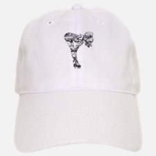 Camo Stripper in GREY Baseball Baseball Cap