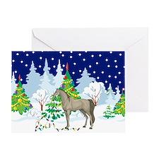 Christmas Lights Arabian Greeting Card