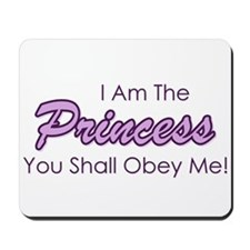 Sassy Purple Princess Mousepad