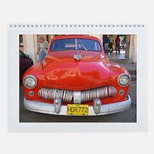 Cuban Classics Wall Calendar
