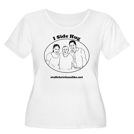 """I Side Hug"" - SCL - Women's Plus Size Scoop Neck"