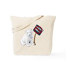 Polar Bears for Obama Tote Bag