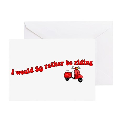Rather Be Riding Greeting Card
