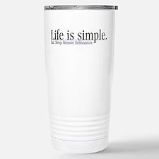 Remove Subluxation Stainless Steel Travel Mug