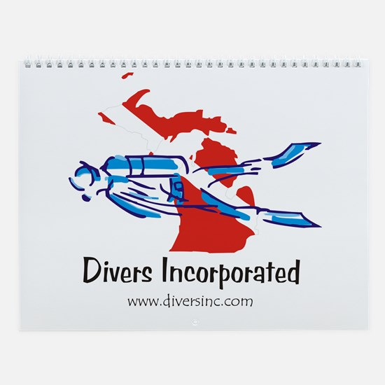 Divers Incorporated Wall Calendar