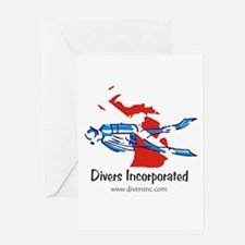 Divers Incorporated Greeting Card
