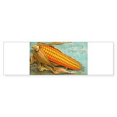 Corny Thanksgiving Bumper Bumper Sticker
