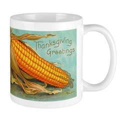 Corny Thanksgiving Mug