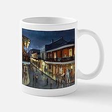 BourbonStreetNightime Mugs