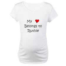 Cool My heart belongs jovan Shirt