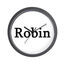 Robin - Personalized Wall Clock