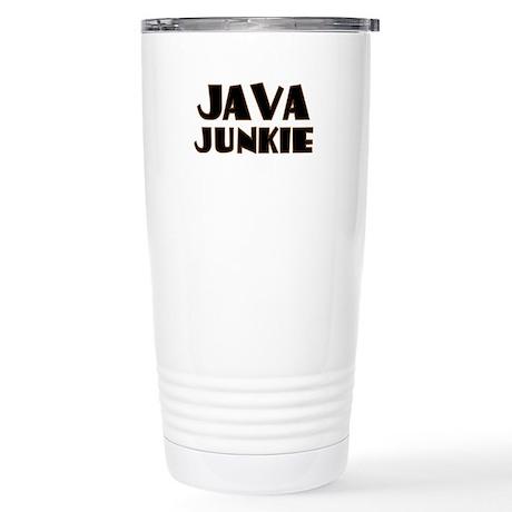 Java Junkie Stainless Steel Travel Mug