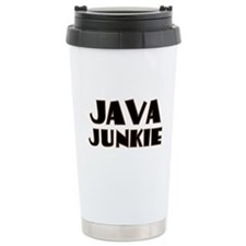 Java Junkie Travel Mug