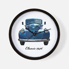1946 Classic Pickup Wall Clock