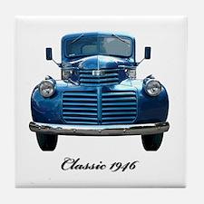 1946 Classic Pickup Tile Coaster