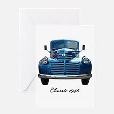 1946 Classic Pickup Greeting Card