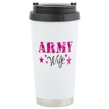 Army Wife Travel Mug