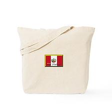Unique Peru soccer Tote Bag