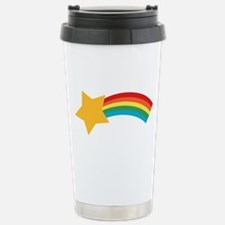 Retro Pop Shooting Star Stainless Steel Travel Mug