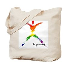 Gay Pride - Be Yourself Tote Bag