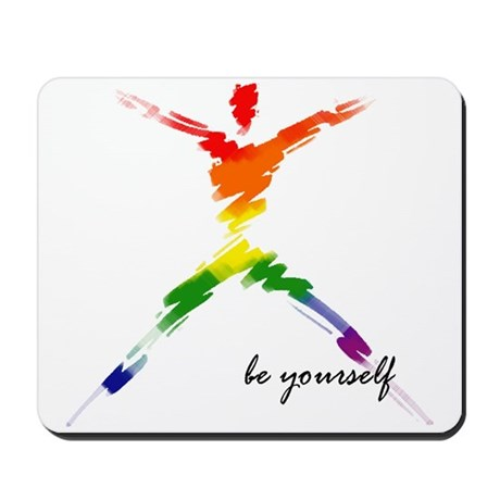 Gay Pride - Be Yourself Mousepad