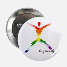 Gay Pride - Be Yourself Button