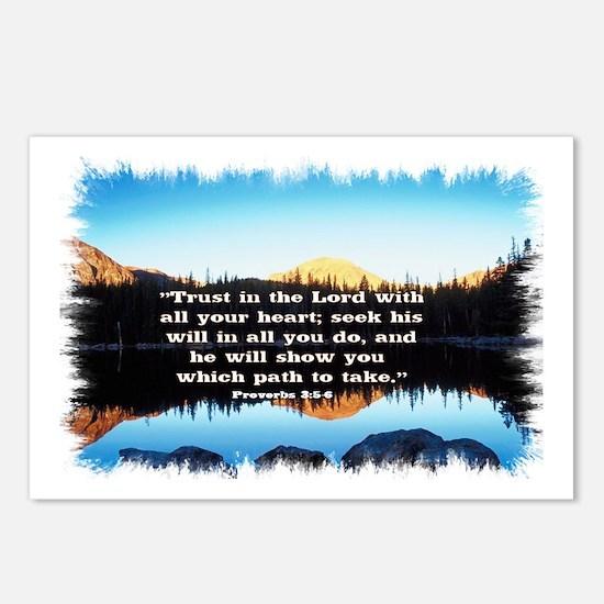 Seek His Will Postcards (Package of 8)